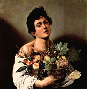 Boy with a Basket of Fruit, Caravaggio