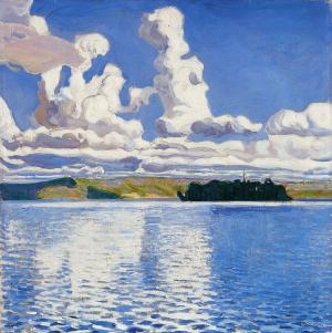 Cloud Towers, Akseli Gallen-Kallela