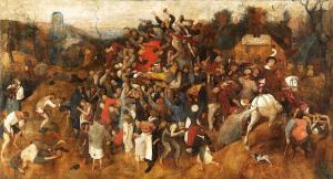 The Wine of Saint Martin's Day, Pieter Bruegel the Elder