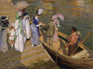 El ferry, Emanuel Phillips Fox
