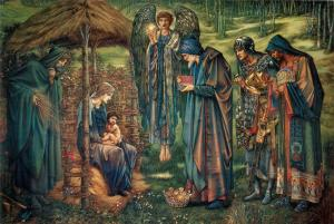 La Estrella de Belén, Edward Burne-Jones