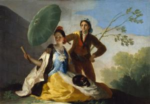 El quitasol, Francisco Goya