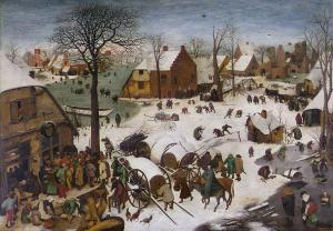 The Census at Bethlehem, Pieter Bruegel the Elder