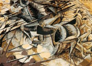Charge of the Lancers, Umberto Boccioni