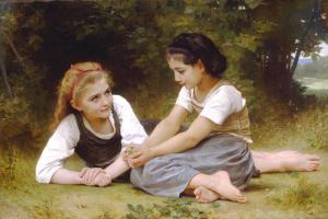 The Nut Gatherers, William-Adolphe Bouguereau