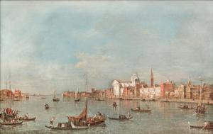 View of the Giudecca Canal, Francesco Guardi