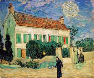 White House at Night, Van Gogh