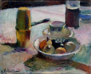 Fruit and Coffeepot, Henri Matisse