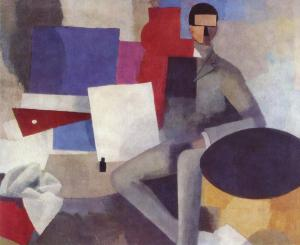 The seated man, Roger de La Fresnaye