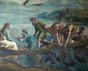 Miraculous Draught of Fishes, Raphael