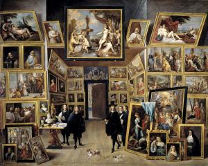 Leopold William in his paintings gallery, David Teniers
