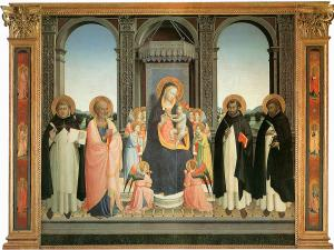 Fiesole Altarpiece, Fra Angelico