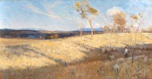 Golden summer, Eaglemont, Arthur Streeton