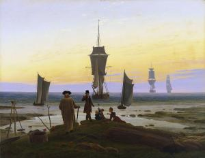 The life stages, Caspar David Friedrich