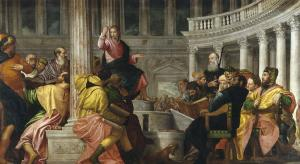 Jesus among the doctors, Paolo Veronese