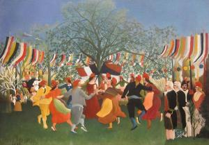 The Centennial of Independence, Henri Rousseau