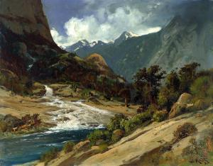 Valle Hetch Hetchy, William Keith