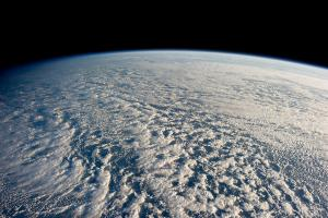 Clouds, view from space