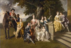 The Family of Sir William Young, Johann Zoffany