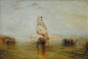 The Sun of Venice Going to Sea, J. M. W. Turner