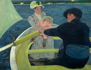 The Boating Party, Mary Cassatt
