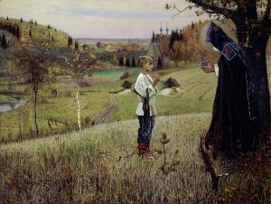 Vision of Youth Baltholomew, Mikhail Nesterov