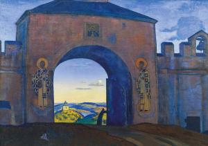 And We are Opening the Gates, Nicholas Roerich