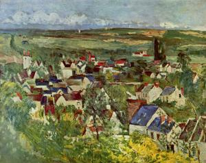 View of Auvers, Paul Cézanne