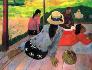 The Midday Nap, Paul Gauguin