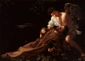 Francis of Assisi in Ecstasy, Caravaggio