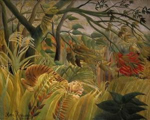 Tiger in a Tropical Storm, Henri Rousseau