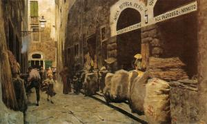 The Fire Street, Telemaco Signorini