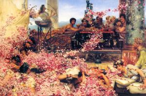The Roses of Heliogabalus, Lawrence Alma-Tadema