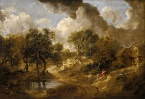 Landscape in Suffolk, Thomas Gainsborough