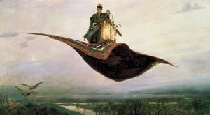 The Flying Carpet, Viktor Vasnetsov