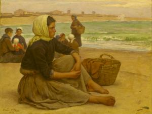 Waiting for the boats, João Marques de Oliveira