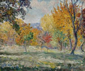 Landscape with Trees, Henri Lebasque