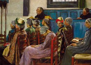 The Sermon, Gari Melchers