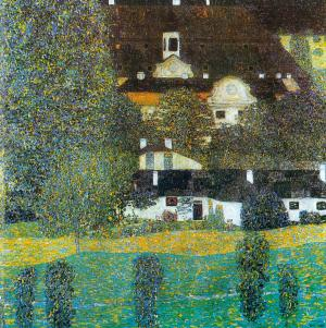 Castle Chamber at Attersee II, Gustav Klimt