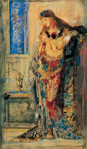 The Toilet, Gustave Moreau