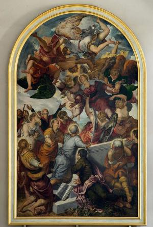 Assumption of Mary, Tintoretto