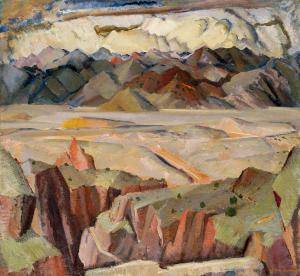 Mountains And Valleys, William Victor Higgins