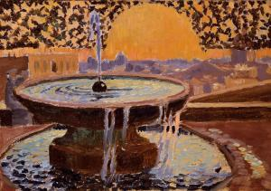 Fountain at the Villa Medici, Maurice Denis