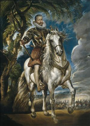 Equestrian Portrait of the Duke of Lerma, Rubens
