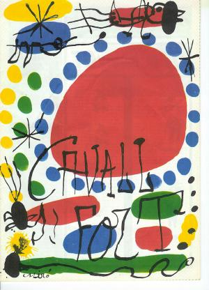 Illustration for Cavall Fort magazine, Joan Miró