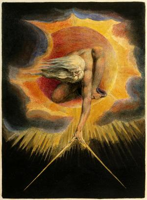 The Ancient of Days, William Blake