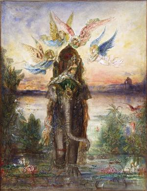 The Sacred Elephant, Gustave Moreau