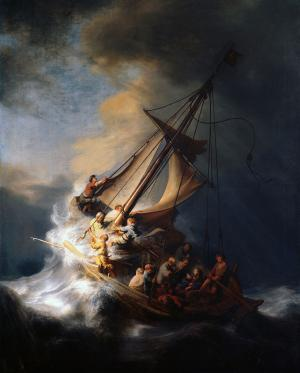 The Storm on the Sea of Galilee, Rembrandt