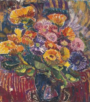 Still Life with Flowers, Mela Muter