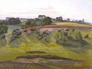 Suffolk Landscape, John Nash